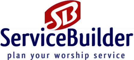 Worship Planning Servicebuilder Online Software